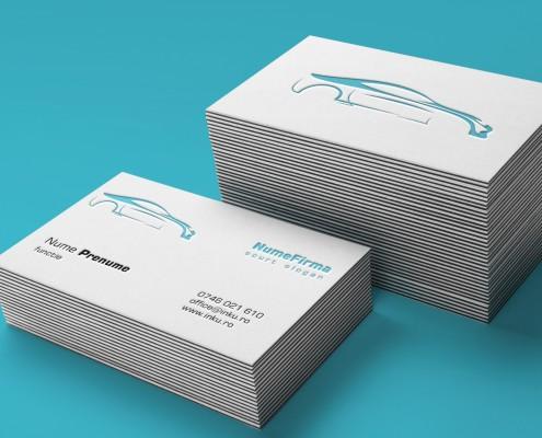 carti de vizita  letterpress