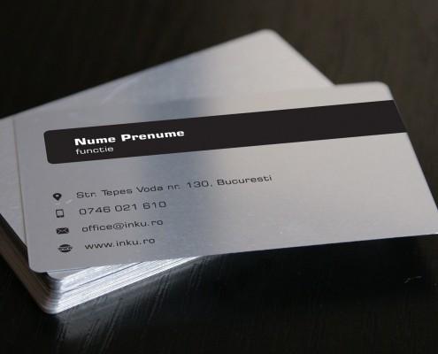 carti de vizita din metal constructii