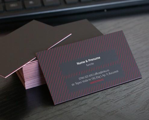 carti de vizita carton triplex