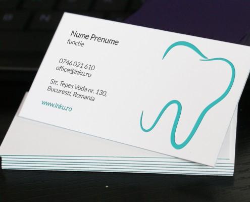 carti de vizita stomatolog dentist